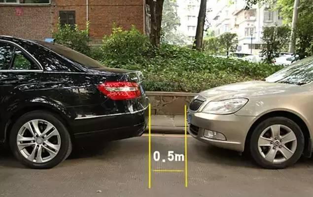 新手如何判断前后车间的距离?