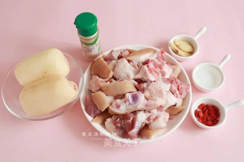 莲藕猪蹄汤的制作方法