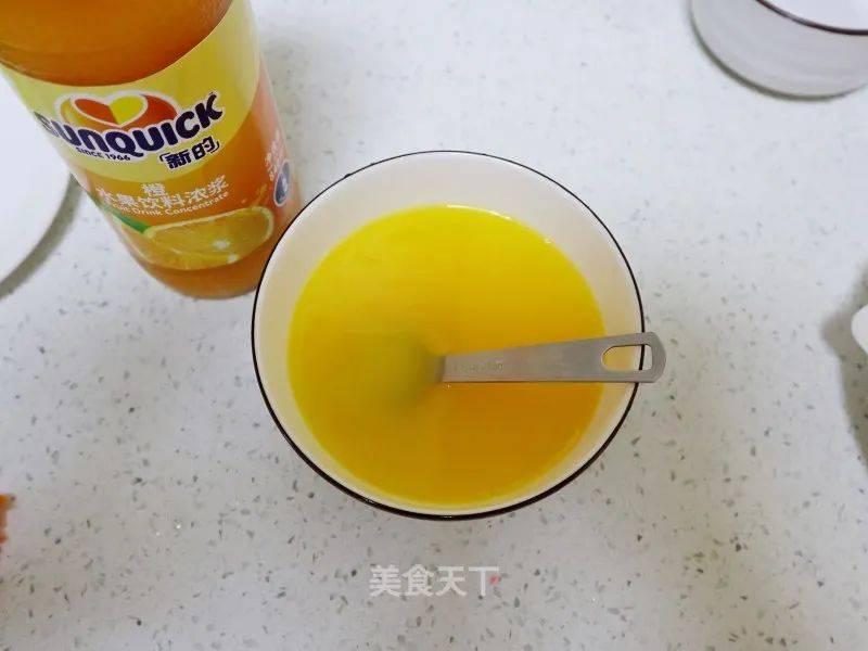 橙汁鸡翅的做法