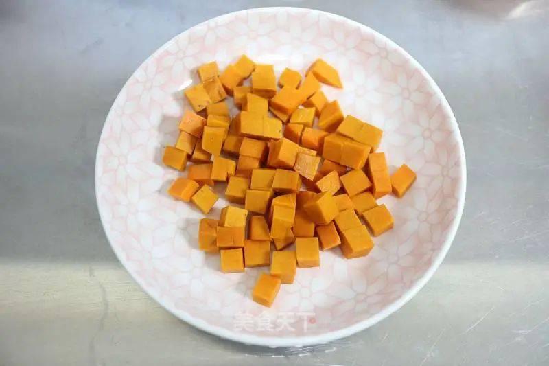 南瓜莲子桂花汤的做法