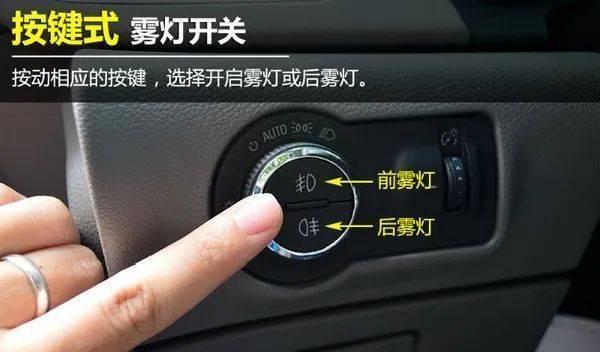 10年驾龄老司机都不认识的雾灯!你知道怎么用吗?