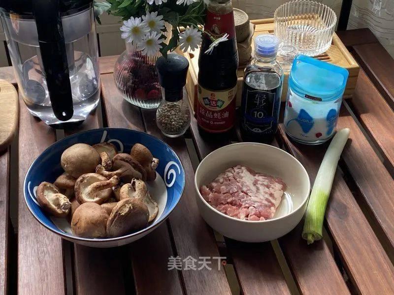 照烧香菇酿肉的做法