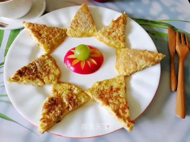 苹果鸡蛋饼的做法